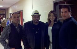 Mike Aaron Neville Macie and Gary